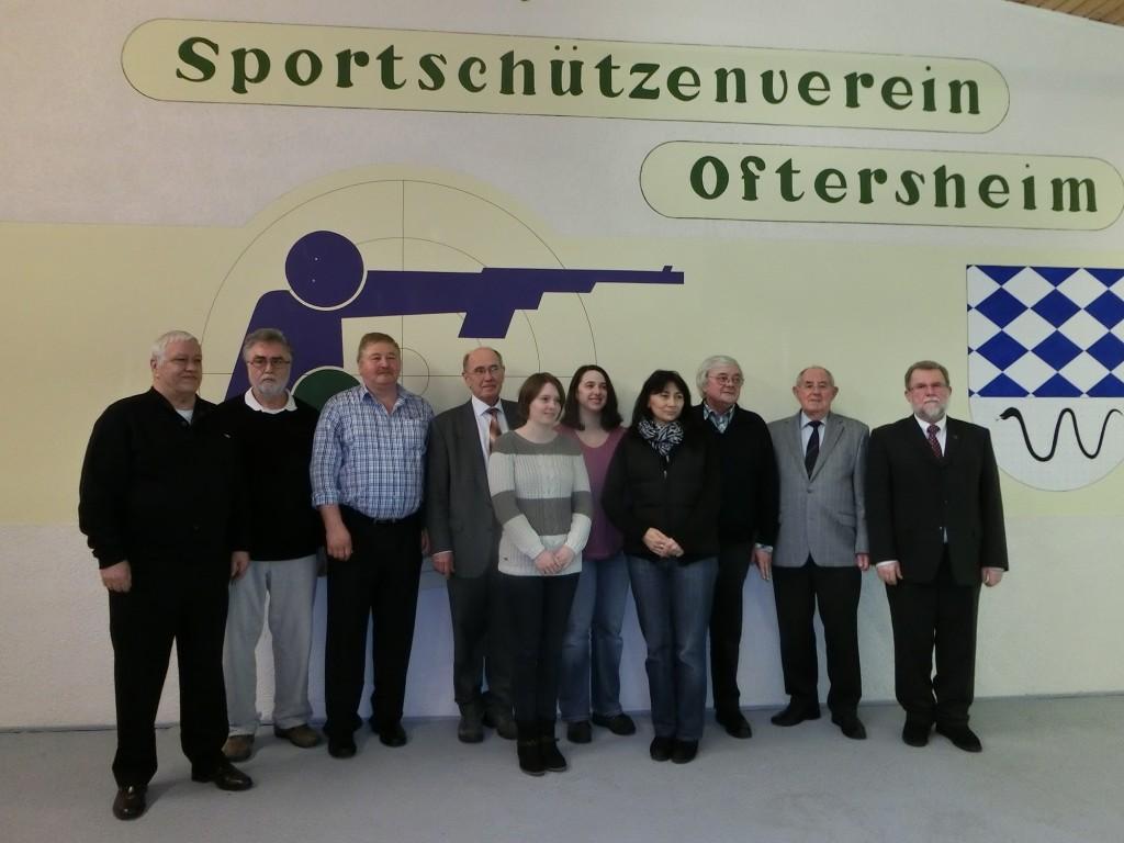 Vorstandschaft SSV-Oftersheim 2015